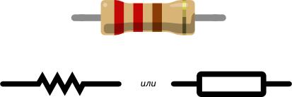 Обозначения резисторов