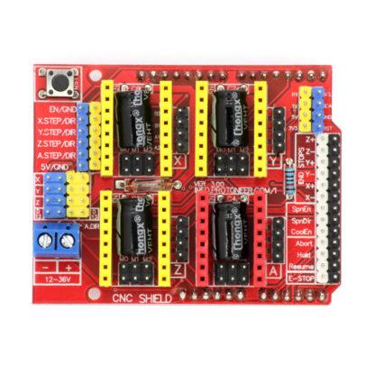 CNC Shield v3 (Плата расширения ЧПУ) для Arduino Uno
