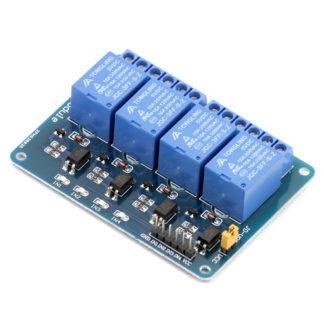 4-канальный модуль реле SRD-05VDC-SL-С