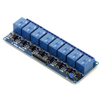 8-канальный модуль реле SRD-05VDC-SL-С