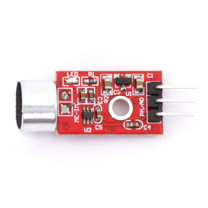 Модуль микрофона с усилителем MAX9812 (FC-109)