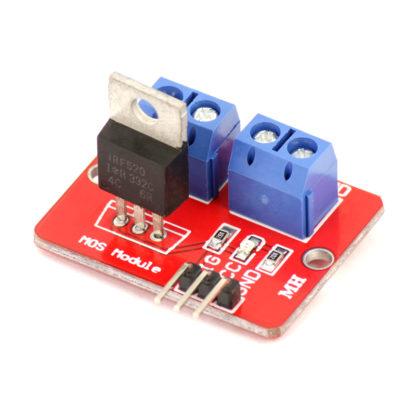 Силовой ключ на IRF520 MOSFET