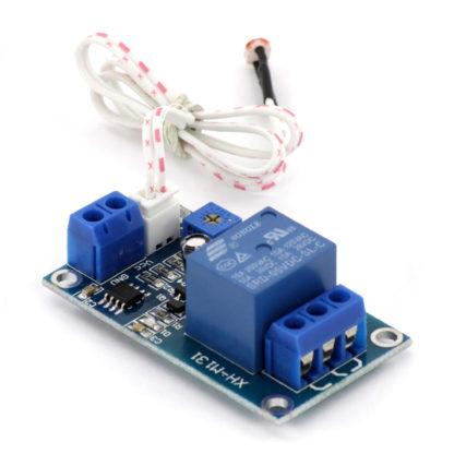 Модуль реле с фоторезистором (XH-M131)