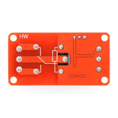 1-канальный модуль реле (5V) с выбором уровня сигнала