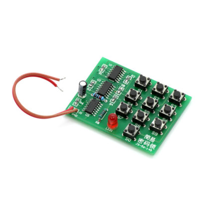 Радиоконструктор: Кодовый замок