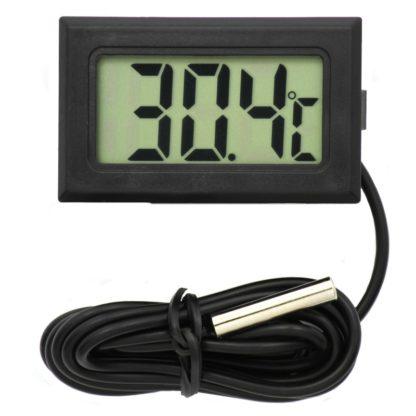 Термометр с ЖК дисплеем и герметичным щупом (1 м)