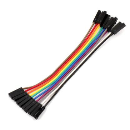 Соединительные провода мама-мама 10 см