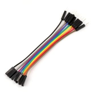 Соединительные провода мама-папа 10 см