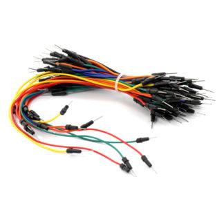 Комплект проводов для макетной платы папа-папа (65 шт)