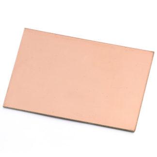 Печатная плата односторонняя 7 х 9 см (стеклотекстолит FR-4)