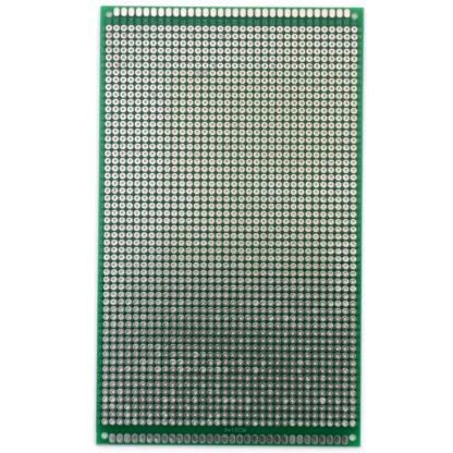 Монтажная плата двухсторонняя (9x15 см)