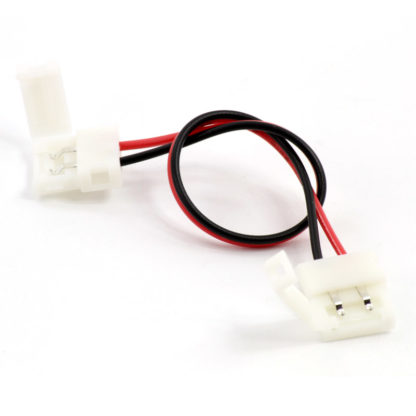 Кабель с клипсами для LED лент (2pin, 10 мм)