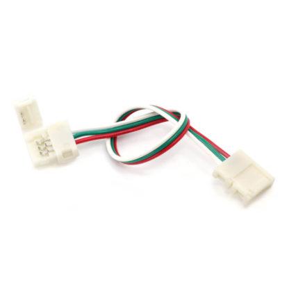 Кабель с клипсами для LED лент (3pin, 10 мм)