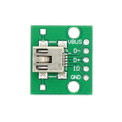 Разъем mini USB на плате