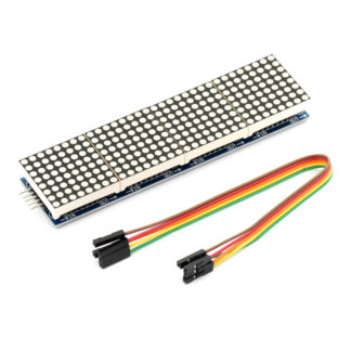Светодиодная матрица 8х8 MAX7219 (4 сегмента)