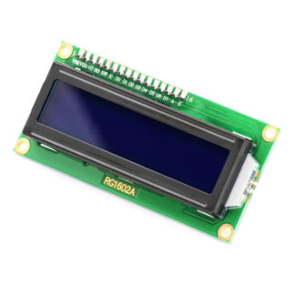 Дисплей 1602 c I2C адаптером (16×2 символов, синий)