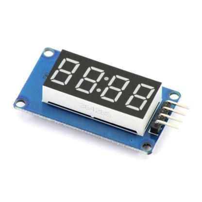 Модуль 4-разрядного цифрового индикатора на TM1637