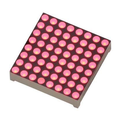 Светодиодная матрица 8x8 (Красный, Общий анод)