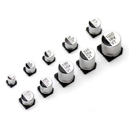 SMD электролитические конденсаторы