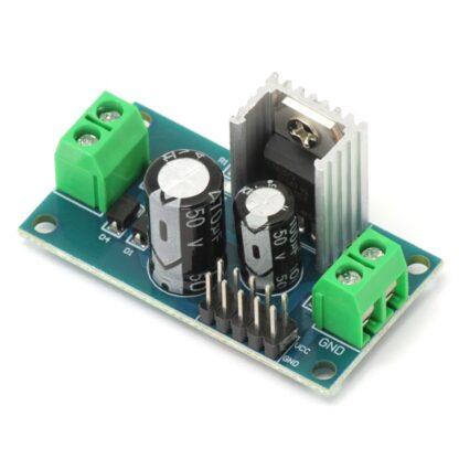 Модуль стабилизатора напряжения на LM7805 (Вход: 8-24 В, Выход: 5 В, 1.5 А)