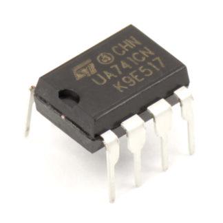 Операционный усилитель UA741CN (LM741)