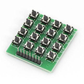 Матричная 16-кнопочная клавиатура 4х4