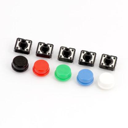 Тактовые кнопки 12×12 мм