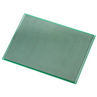 Монтажная плата 15×20 см двухсторонняя