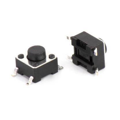 Тактовая кнопка 6x6x5 мм (SMD)