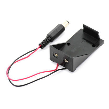 Батарейный отсек для 9 В батареи (Кроны) с штекером