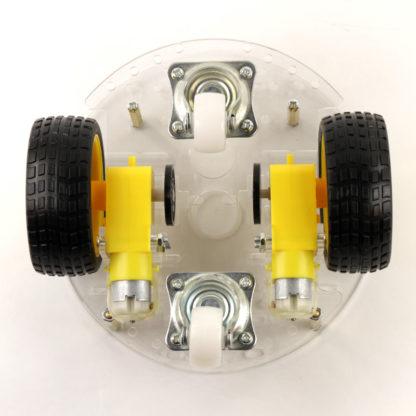Платформа-шасси круглая, 4-колесная