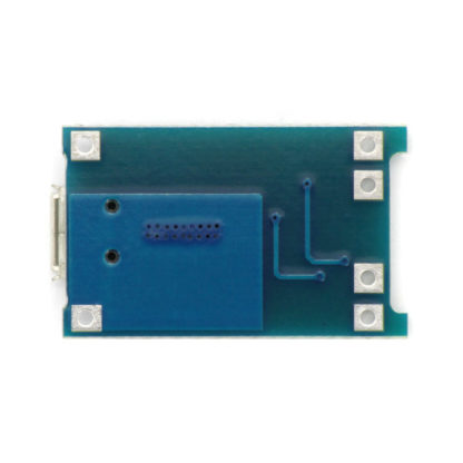 Модуль зарядки Li-ion аккумуляторов на TP4056 с защитой (1 А)