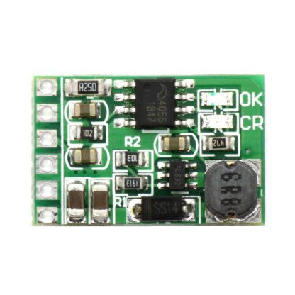 Модуль зарядки Li-ion 18650 + повышающий преобразователь до 12 В