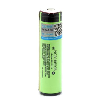 Li-ion аккумулятор NCR18650B (3.7 В, 3400 мАч) с защитой