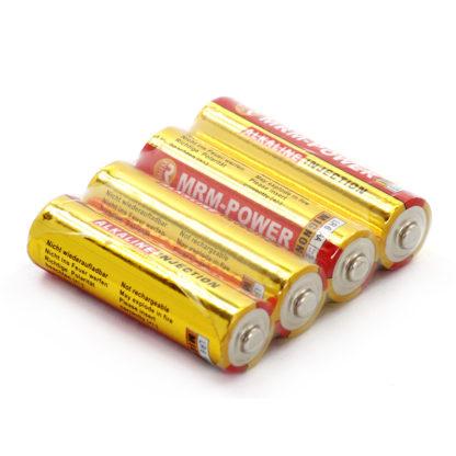 Щелочные батарейки АА MRM-POWER (4 шт.)