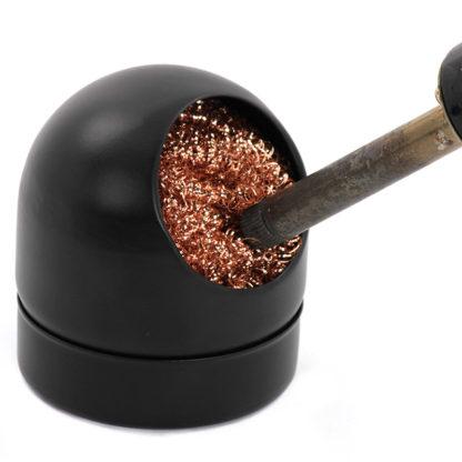 Стружка для очистки паяльника в корпусе