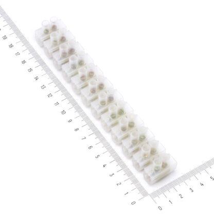 Клеммник на 12 соединений (винтовой зажим) 60А