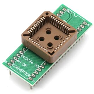 Переходник для микросхем PLCC 44/DIP-40 на плате