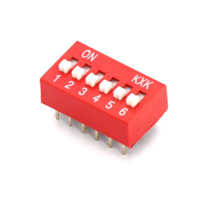 DIP-12 переключатель DS-06