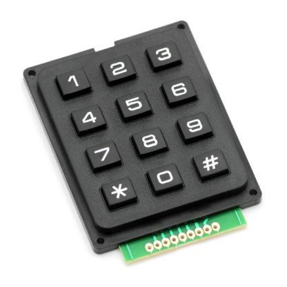 Мембранная клавиатура 3х4