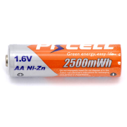 Ni-Zn аккумулятор AA | 1.6V, 2500 mWh