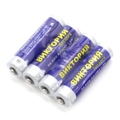 Батарейки AA «Виктория» (4 шт)