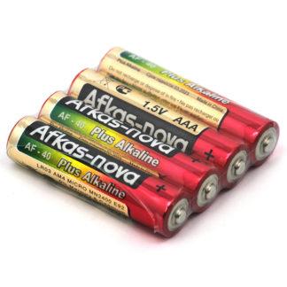Щелочные батарейки AAA Afkas-nova (4 шт)