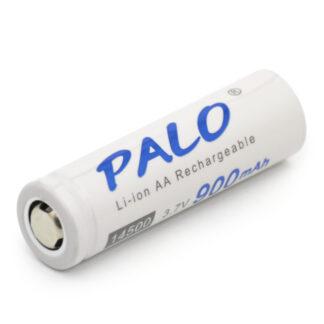 Li-ion аккумулятор PALO 14500 (3.7 В, 900 мАч)