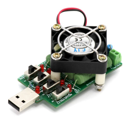 USB-нагрузка (4 резистора по 10 Вт) | 5 В, 0.25-4А