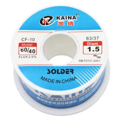 Припой KAINA 60/40 1.5 мм (100 г) с флюсом