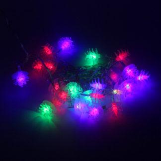Новогодняя гирлянда (5 м, 28 LED) – Шишки