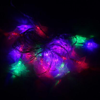 Новогодняя гирлянда (5 м, 28 LED) – Звезды