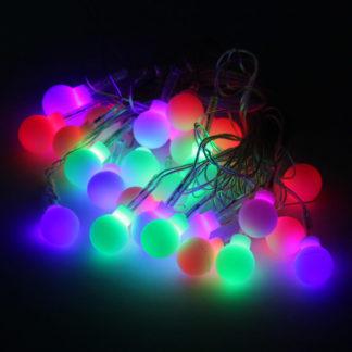 Новогодняя гирлянда (5 м, 28 LED) – Шары